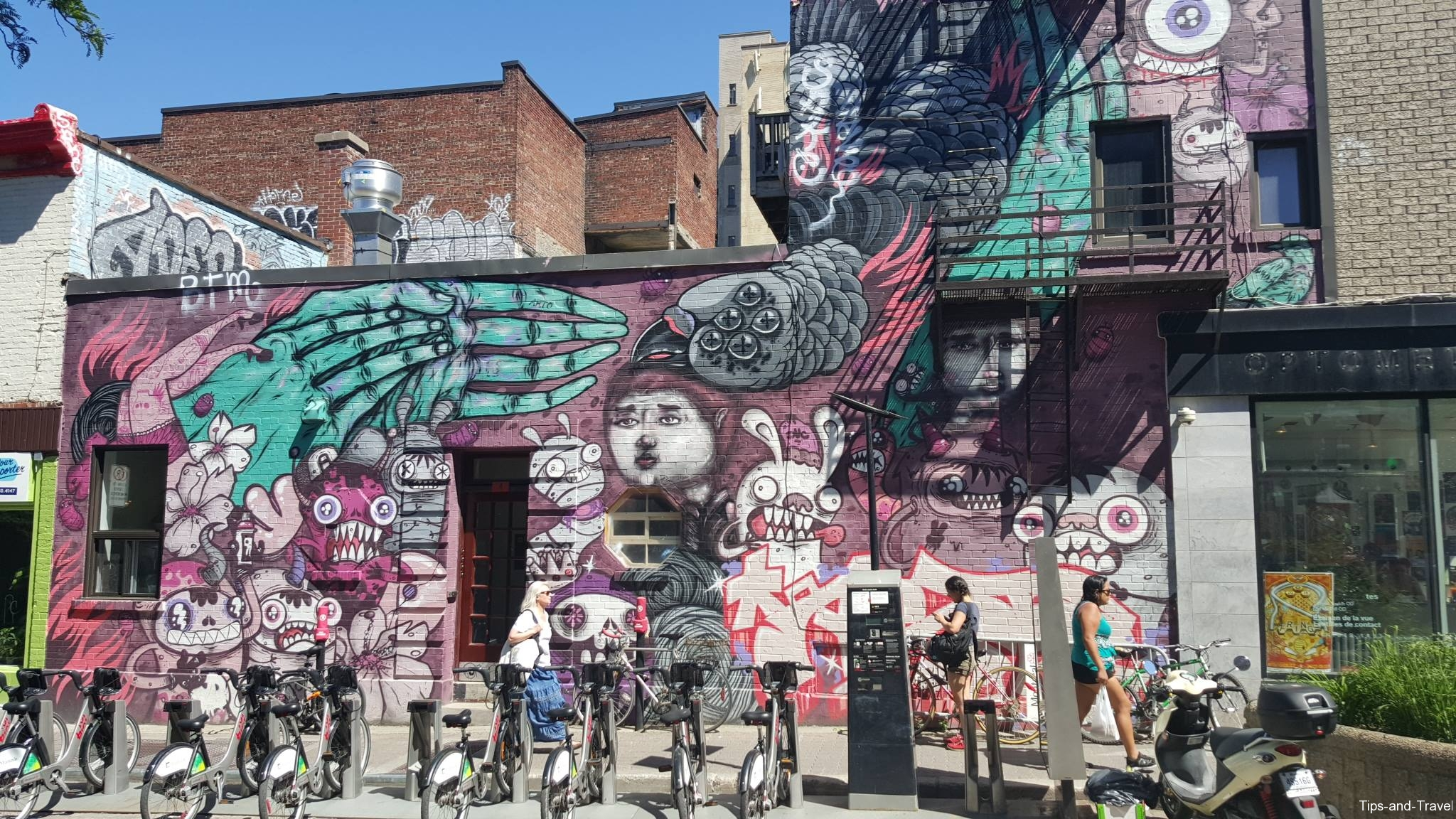 Mural festival montreal quebec canada tips and travel for Mural festival