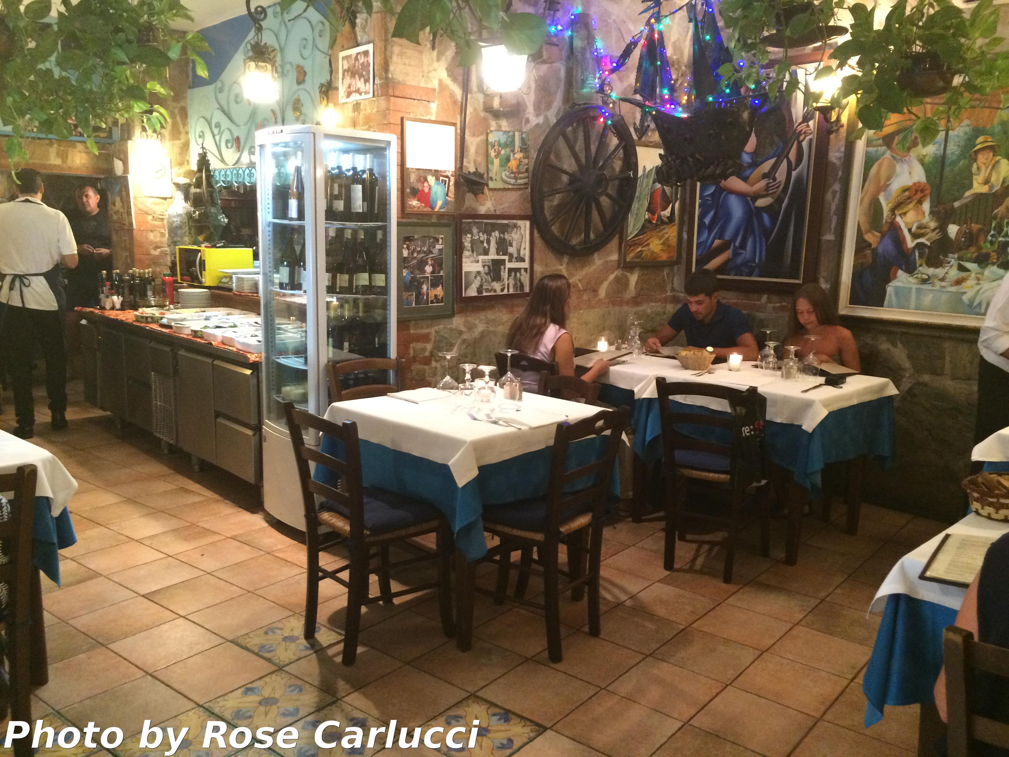 La Grotta Azzurra Restaurant Taormina Sicily Italy Tips